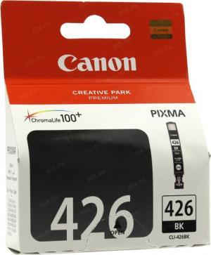 Картридж CANON CLI-426BK Black для PIXMAiP4840, MG5140/5240/6140/8140