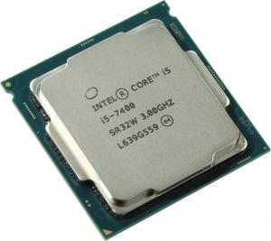 OEM Intel Core i5-7400       3 GHz/4core/SVGA HD Graphics  630/1+6Mb/65W/8  GT/s  LGA1151