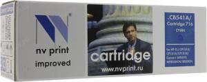 Картридж NV-PrintCB541A/Cartridge716 Cyan для HP LJ CM1312/CP1215/1515/1518,Canon MF8030CN