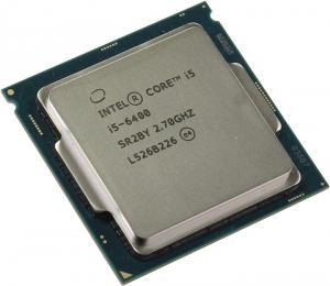 OEM Intel Core i5-6400 2.7 GHz/4core/SVGA HD Graphics 530/1+6Mb/65W/LGA1151