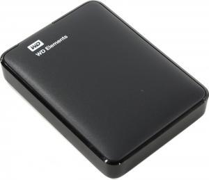 """WD <WDBU6Y0020BBK-WESN> Elements Portable 2Tb BlackEXT (RTL) 2.5""""USB3.0"""