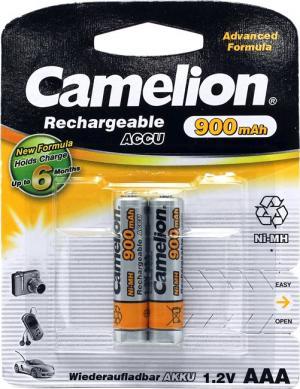 """Аккумулятор Camelion NH-AAA900-2 (1.2V, 900mAh) NiMH, Size """"AAA"""" <уп.2 шт>"""