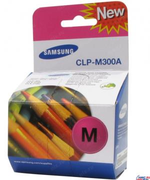 Samsung Тонер-картридж пурпурный для CLP-M300A, 1000 страниц