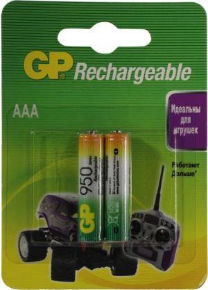 """Аккумулятор GP 95AAAHC-2 (1.2V, 920mAh) NiMh, Size """"AAA"""" <уп.2 шт>"""