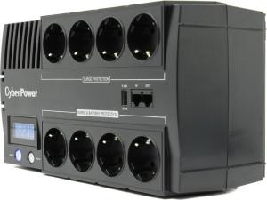 UPS 1000VA CyberPower BRICs LCD <BR1000ELCD>защита телефонной линии/RJ45,USB,+USB для зарядкимоби