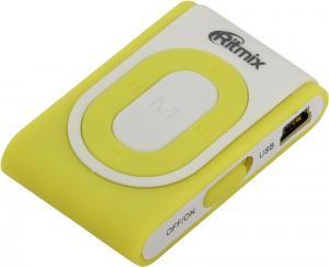Ritmix <RF-2400-4Gb> White/Yellow (MP3 Player, 4Gb,USB2.0, Li-Pol)