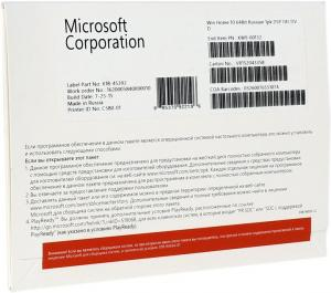 Microsoft Windows 10 Home  64-bit Рус.(OEM) <KW9-00132>