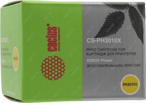 Картридж CACTUS CS-PH3010X для Xerox Phaser 3010/WorkCentre 3045, 2300 стр.