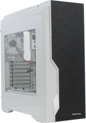 Miditower Deepcool DUKASE V2 <DP-ATX-DUKWH2BL> White ATXбезБП,с окном