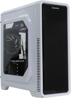 Miditower GameMax <G561-White Blue  LED> ATX Без  БП