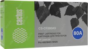 Картридж Cactus CS-CF280A(S)дляHP LJ M400/401/425