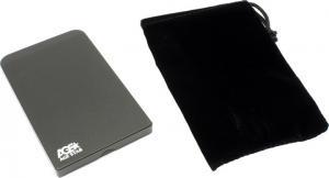 """AgeStar <SUB2O1-Black> (EXT BOX для внешнего подключения 2.5""""SATA HDD, USB2.0,Al)"""