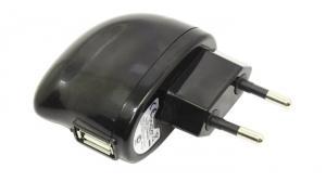 Зарядное устройство USB (Вх. AC110-240V,Вых.DC5V,USB 1A)