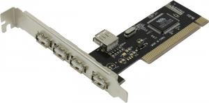 Orient DC-602 (OEM) PCI, USB2.0, 4port-ext,1port-int