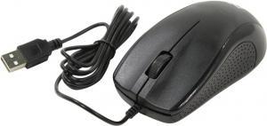 Defender Optical Mouse <Optimum MB-160 Black> (RTL) USB3btn+Roll <52160>