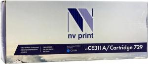 Картридж NV-Print CE311A/Cartridge 729  Cyan  для  HP CP1025, Canon LBP7010C