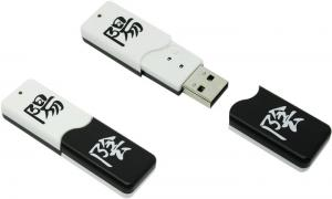 16Gb Qumo Yin Yang <QM16GUD-Y&Y> USB2.0  Flash  Drive (RTL)