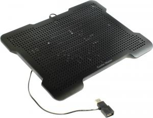 Cooler Master <R9-NBC-XL2E-GP> NotePal X-LITE II Notebook Cooler (15-21дБ,1100об/мин,USBпитани