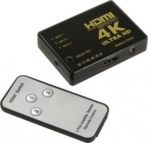 Orient <HS0301H-IR> HDMI Switcher (3in -> 1out,ver1.4, ПДУ)