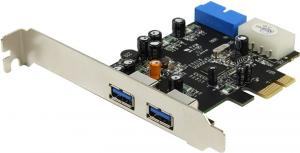 STLab U-780 (RTL) PCI-Ex1, USB3.0,  2  port-ext,  2 port-int