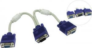 Espada <EVGAM2xVGAF25> кабель-адаптер VGA15M -> 2xVGA15F
