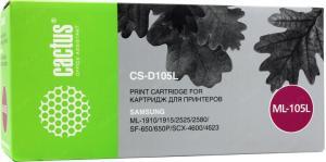 Картридж Cactus CS-D105L для SamsungML-1910/1915/2525/2580, SCX-4600/4623, SF-650