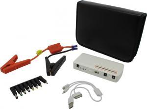Внешний аккумулятор KS-is Power Bank KS-268 White (USB 2A, 12V200A,15000mAh, 13адаптеров,Li-Po
