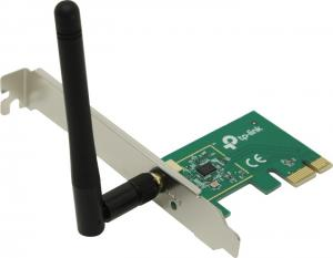 TP-LINK <TL-WN781ND> Wireless N PCI Express Adapter  (802.11b/g/n, PCI-Ex1)