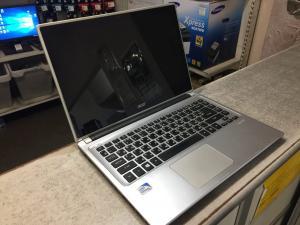 """Ноутбук Acer Aspire V5-431P Pentium 987 1.5ГГц/4Гб/320Gb/DVDRW/WiFi/BT/Win8.1/14"""" (Сенсорный дисплей"""