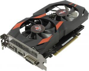 PCI-E 4Gb GDDR5 ASUS CERBERUS-GTX1050TI-O4G(RTL) DVI+HDMI+DP <GeForceGTX1050Ti>