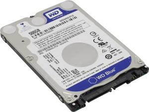 "HDD 500 Gb SATA 6Gb/s  Western Digital Blue <WD5000LPCX>  2.5""  5400 rpm 16Mb"