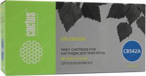 HP CB542A Yellow для hpLJ CP1215/1515N/1518Ni CACTUS