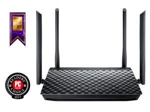 ASUS RT-AC1200G+ Dual-band Gigabit Router (RTL) (4UTP10/100/1000Mbps,1WAN,802.11a/b/g/n/ac,USB