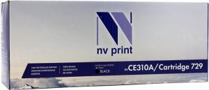 Картридж NV-Print CE310A/Cartridge 729 Black дляHP CP1025, Canon LBP7010C