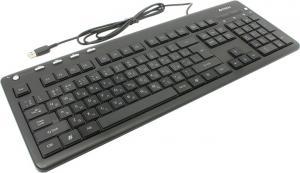Клавиатура A4Tech KD-126-1 Black <USB>104КЛ+4КЛМ/Мед,подсветка клавиш