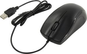 OKLICK Optical Mouse <185M> <Black> (RTL) USB  3btn+Roll <945606>