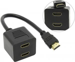 Espada <EHDMIM2xHDMIF25> кабель-адаптер HDMI 19M ->2xHDMI 19F