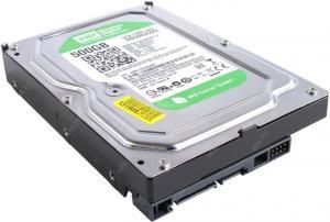 """HDD 500 Gb SATA 6Gb/s Western Digital CaviarGreen <WD5000AZRX> 3.5""""64Mb"""