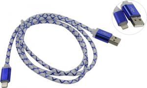 Кабель USB 2.0  AM-->Lightning 1м, Blue Defender <87551>