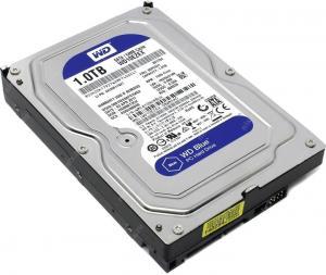 """HDD 1Tb SATA 6Gb/s Western Digital Caviar Blue <WD10EZEX> 3.5""""7200rpm 64Mb"""