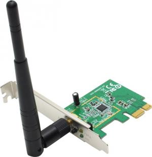 ASUS PCE-N10 Wireless LAN PCI-E Adapter (RTL) (802.11b/g/n,  PCI-Ex1, 150Mbps)