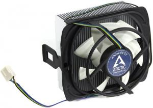 Arctic Cooling Alpine 64 GT (rev.2) Cooler (4пин, 754-AM2/AM3/AM4/FM1, 28.84дБ,  500-2000об/мин, Al)