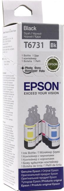 Чернила Epson T6731 Black для EPSInkjet Photo L800