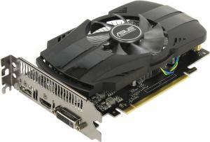 PCI-E 2Gb GDDR5 <GeForce GTX1050> ASUS (RTL) PH-GTX1050-2G DVI+HDMI+DP