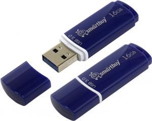 SmartBuy Crown <SB16GBCRW-Bl> USB3.0Flash Drive 16Gb(RTL)