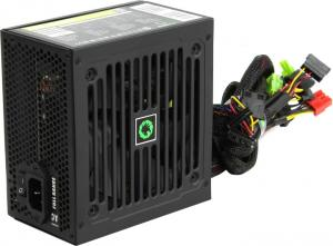 Блок питания GameMax <GE-500> GE ECO  GAMER  500W  ATX (24+2x4+6/8пин)