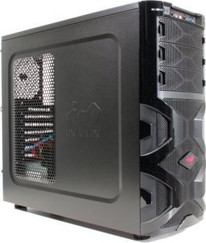 Miditower INWIN MG136BL MANA 136 <Black> ATX 600W(24+2x4+6пин) <6065171>
