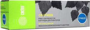 Картридж Cactus CS-CF402X Yellow для HPLJ M252/277