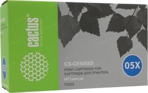Картридж CACTUS CS-CE505X(S) только для HP LJP2055 6500 стр.