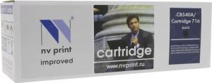 Картридж NV-Print аналог CB540A/Cartridge716 Black для HPLJCM1312/CP1215/1515/1518,Canon MF803